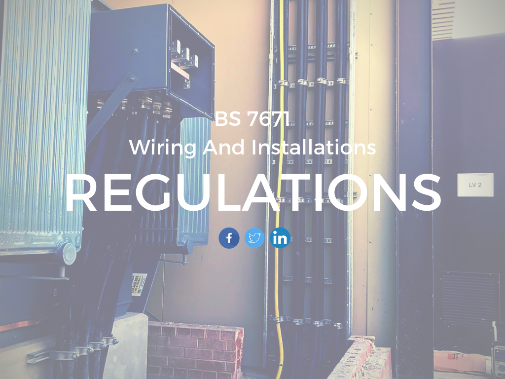BS 7671 Wiring Regulations