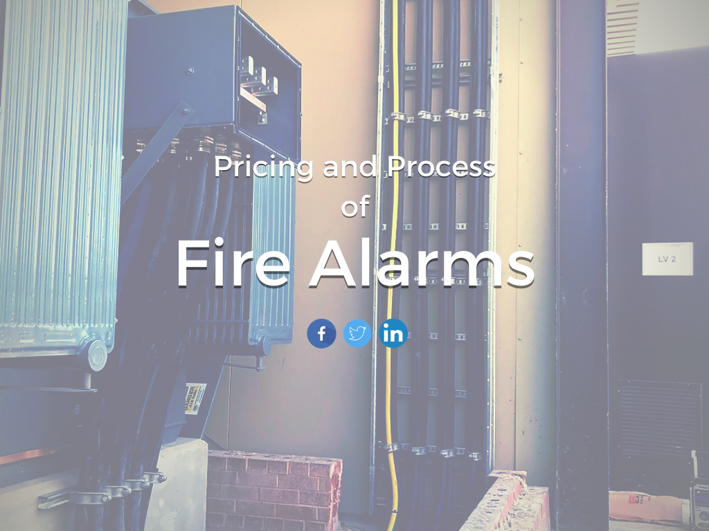 Pricing and Process of Fire Alarms