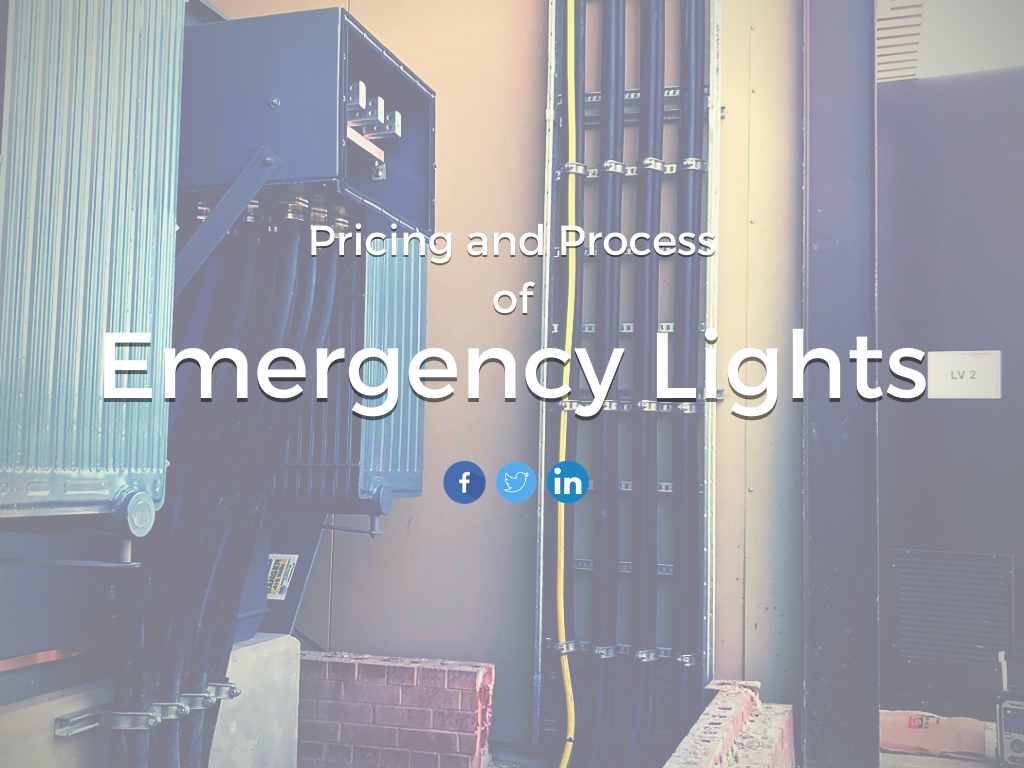 BS 5266 suggests all installations require testing over certain periods of time. Emergency Lights are essential for safety in your workplace as everyone needs to be able to see to evacuate a building in event of a power outage or disaster.